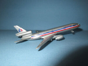 American Airlines DC-10 Diecast Model Airplane