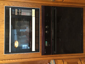 In wall oven and gas stovetop for sale