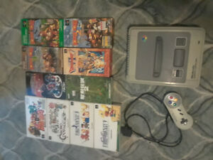 NINTENDO super famicom and games