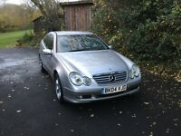 Mercedes 2004 C180K special edition SILVER