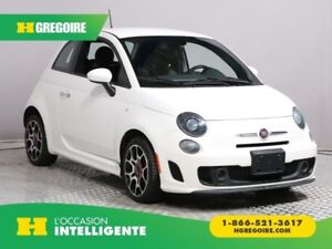 2014 Fiat 500 SPORT TURBO CUIR A/C GR ELECT MAGS BLUETOOTH