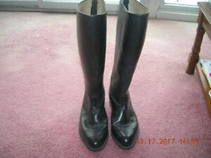 Police Leather Boots