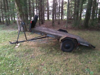 """As is utility trailer 4"""" x 9"""""""