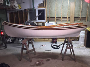 Classic rowing dinghy for sale