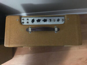 Fender 57 Deluxe hand wired