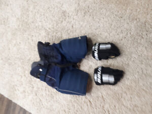 Hockey gear used