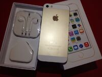iPhone 5s 16gb gold ( t-mobile orange virgin EE )