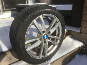 Winter Wheels, Tires and Rims, BMW 2 Series, 225/45 R17