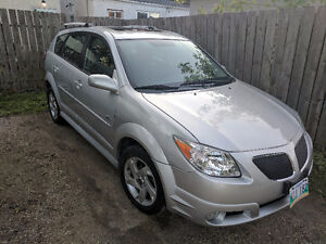 2006 Pontiac Vibe AWD Ultra Low KMs, Brand New Winter Tires!