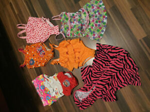 Girl's 24 months and 2T Swim wear