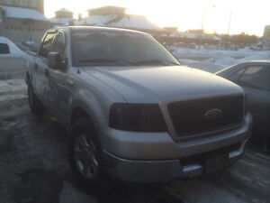 2004 Ford F-150 SuperCrew Silver Pickup Truck