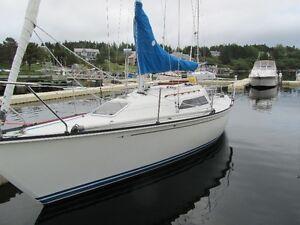 1985 C&C 27 Mark V Sailboat