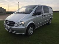 Mercedes-Benz Vito 2.1CDi ( EU5 ) 113 - Long Dualiner 113CDI 2015 silver manual
