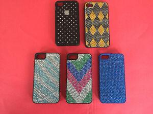 5 ÉTUIS pour Iphone 4 et 4S