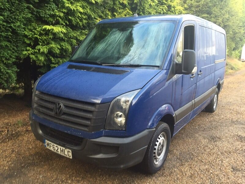 VW crafter 2.5tdi 158bhp mwb top spec van