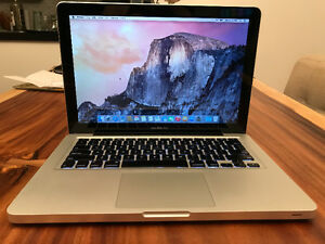 """**MacBook Pro 13"""" 2009** Extra memory included 5GB"""