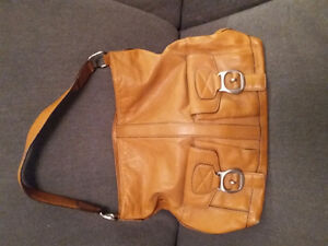 Leather Michael Kors Handbag