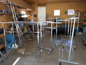 Stainless Steel clothing Store fixtures