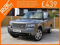 2010 Land Rover Range Rover 3.6 TDV8 Turbo Diesel Vogue 4x4 4WD 6 Speed Auto Sun
