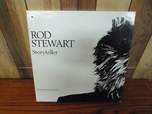 """Rod Stewart """"Storyteller"""" 4 Cassette Boxed Set 1964-1990"""