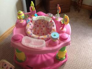 Tea Cup Exesaucer, Mat, Bouncy Chair, Play Mat and Jolly Jumper