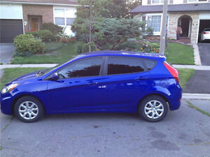 2012 Hyundai Accent GL Hatchback + Winter Tires and Rims