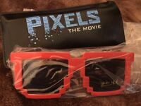 Pixels the Movie sunglasses X 2--New