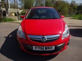 Vauxhall Corsa SXi 1.2i VVT (a/c) (red) 2011