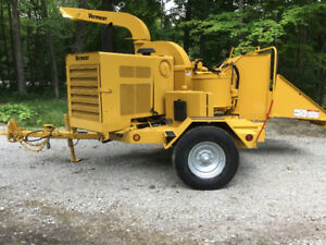Vermeer 1250A wood/brush chipper