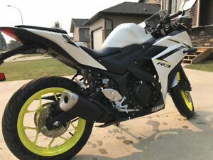 2018 Yamaha YZF-R3 ABS - Only 925km & 4mo old! - Moving!