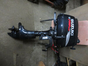 2008 6 HP SUZUKI Four stroke,,NO HOURS