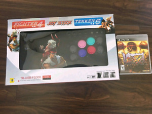 Street Fighter arcade joystick controller. Game is free.