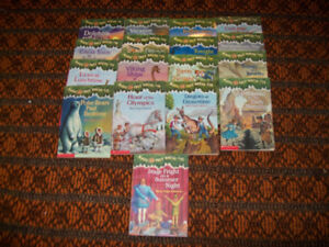 Magic Tree House by Mary Pope Osborne Lot of 17 books  # 9-25