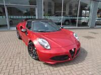 2016 Alfa Romeo 4C TBI SPIDER 50TH ANNIVERSARY Petrol red Semi Auto