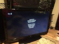 "42"" hitachi lcd TV free view HDMI scart ect"