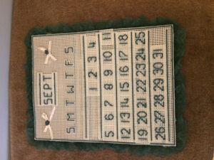 Hand Crafted Calendar
