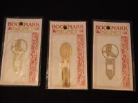 Gold Plated Bookmarks Signet