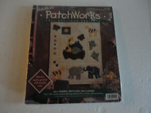 Bucilla PatchWorks Two by Two Kit NEW #41142 Design London Ontario image 1