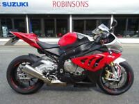 2013 BMW S1000RR SPORT IN RED AND WHITE