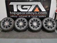 """21"""" Genuine Original Porsche Cayenne 958's Alloy Wheels & Tyres"""