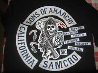 Sons Of Anarchy Embroidered 13-Pc Patches
