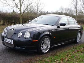 Jaguar S-Type 2.7D V6 XS (black) 2007