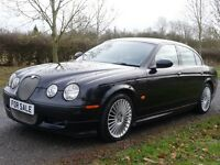 Jaguar S-Type 2.7D V6 XS (black) 2007