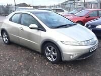 2006/56 Honda Civic 2.2i-CTDi ( 17in Alloys ) ES LONG MOT EXCELLENT RUNNER