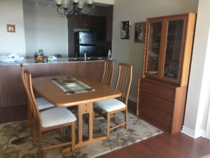 Dining room set in perfect condition