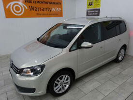 2012,VW Touran 1.6TDI 105bhp DSG SE***BUY FOR ONLY £40 PER WEEK***