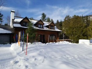 cottage for rent saint sauveur .quebec