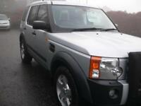 Land Rover Discovery 3 2.7TD V6 2006 S Long Mot 1 Previous Owner F/S/H