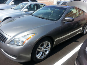2009 Infiniti G37x AWD Sport Coupe (2 door)