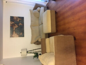 MOVING SALE - COUCHES, BED, TABLES, AND MORE